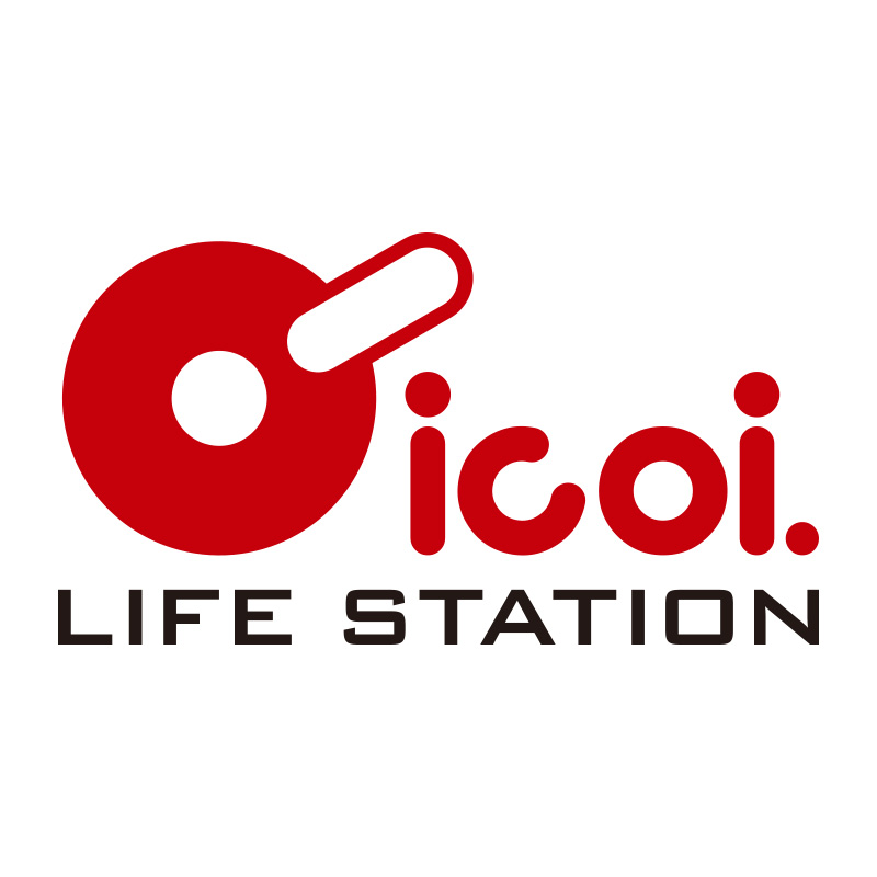 LIFE STATION icoi. ロゴ制作